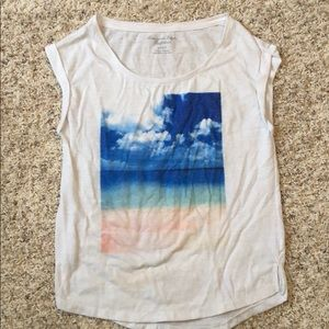XS American Eagle Graphic T-Shirt